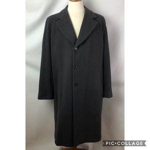 Ermenegildo Zegna Soft wool grey winter coat Sz L